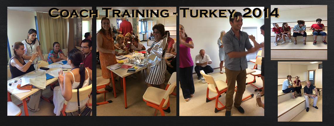 Coach Training, Turkey 2014